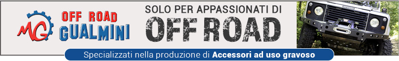 Produzione di accessori ad uso gravoso per offroad